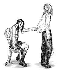 Don't leave me...it's me remember?