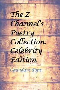poetry collection celebrity edition cover page